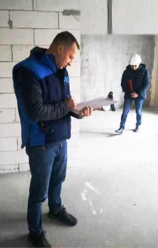 Приемка квартир в новостройках, прием квартиры у застройщика Киев, Днепр, Львов